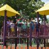 BHCCRC kids on playground.